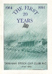 Taranaki Stock Car Club booklet